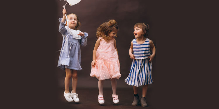 La moda per i più piccoli è sempre in movimento!