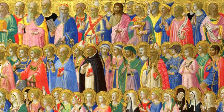 1° Novembre – Festa di tutti i Santi