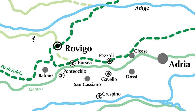 Nelle fertili terre di Adria Etrusca
