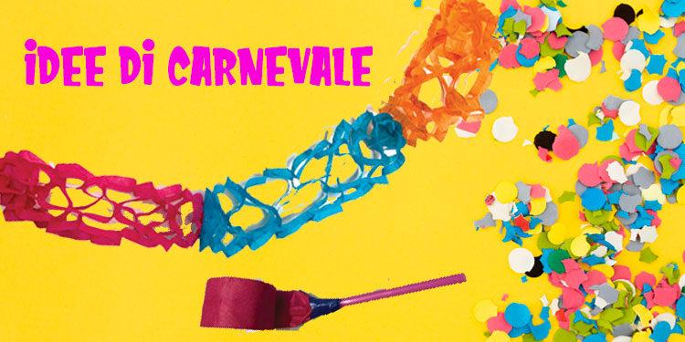 Festone di Carnevale ed altre idee