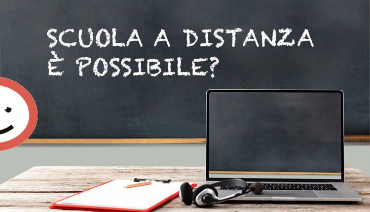 Scuola a distanza è possibile?
