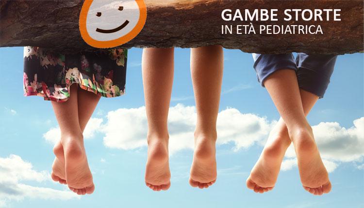 Gambe storte in età pediatrica